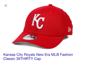 Red/White Royals Hat