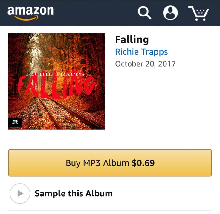 Richie Trapps Amazon, 100wreckordz Richie Trapps, 100wreckordz Distribution, Richie Trapps 100wreckordz